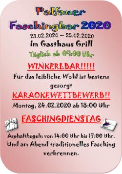 2020-02-23 bis 25_ Palfauer Faschingbar
